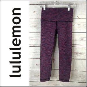 Lululemon Wunder Under Crop ll (Roll Down)
